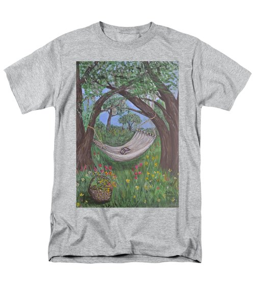Reading Time Men's T-Shirt  (Regular Fit) by Debbie Baker