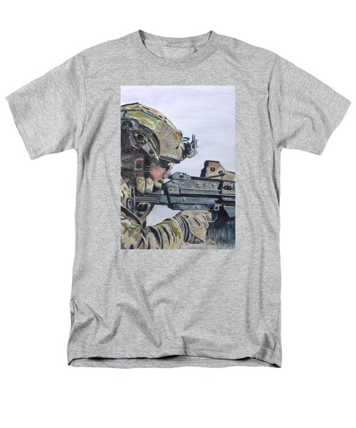 Ready Men's T-Shirt  (Regular Fit) by Stan Tenney