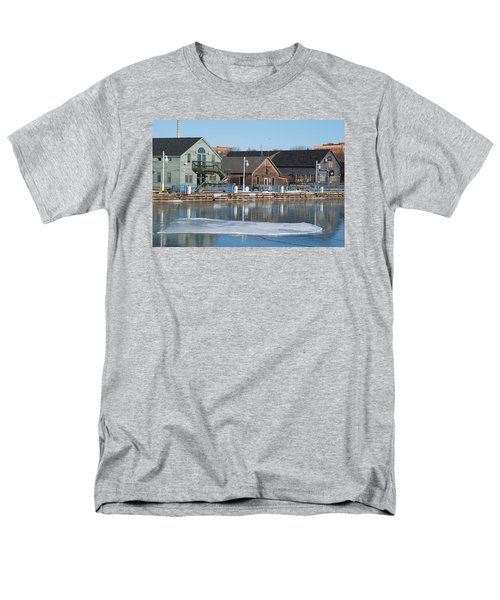 Men's T-Shirt  (Regular Fit) featuring the photograph Remains Of The Old Fishing Village by Janice Adomeit