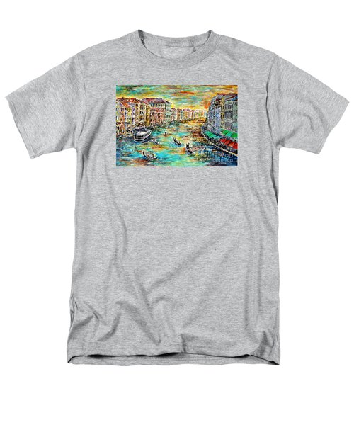 Recalling Venice Men's T-Shirt  (Regular Fit) by Alfred Motzer