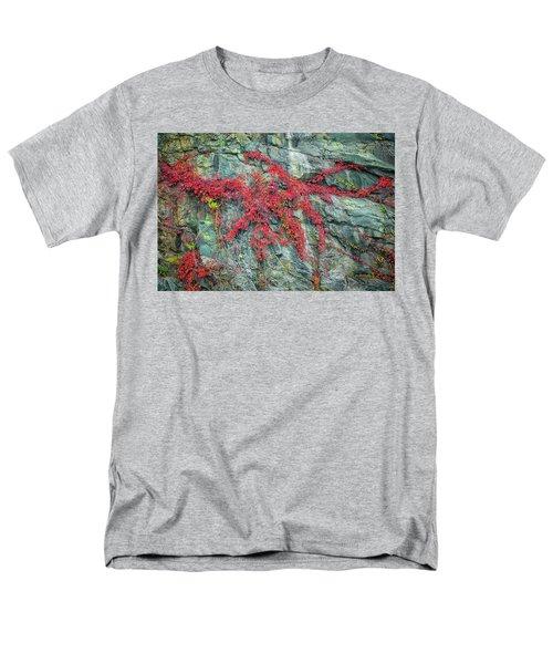 Red Creeper Men's T-Shirt  (Regular Fit) by David Cote