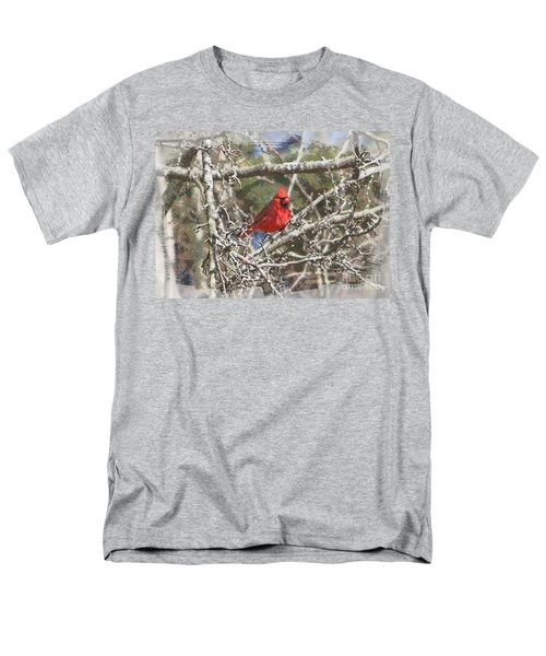 Men's T-Shirt  (Regular Fit) featuring the photograph Red Neck by Robert Pearson
