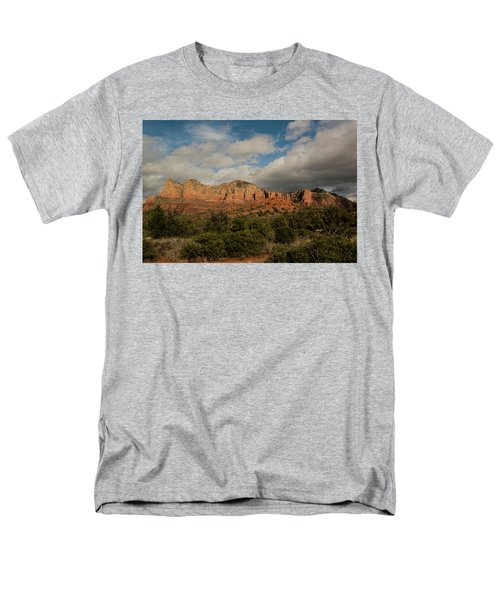 Men's T-Shirt  (Regular Fit) featuring the photograph Red Rock Country Sedona Arizona 3 by David Haskett