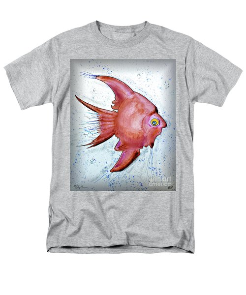Men's T-Shirt  (Regular Fit) featuring the mixed media Redfish by Walt Foegelle