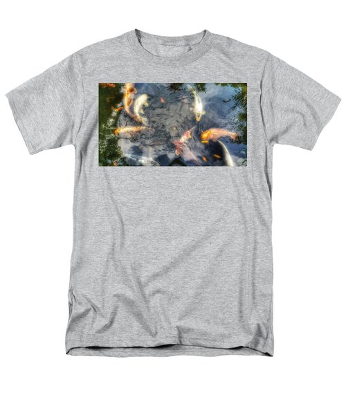 Reflections And Fish 3 Men's T-Shirt  (Regular Fit) by Isabella F Abbie Shores FRSA