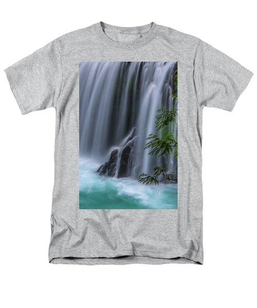 Refreshing Waterfall Men's T-Shirt  (Regular Fit) by Ulrich Burkhalter