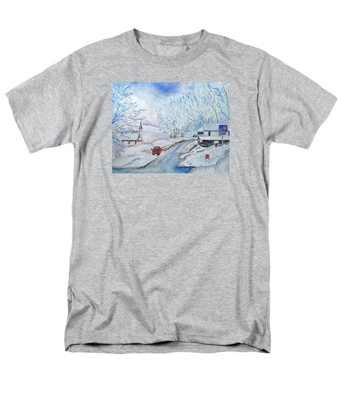 Refuge From The Storm Men's T-Shirt  (Regular Fit) by Christine Lathrop