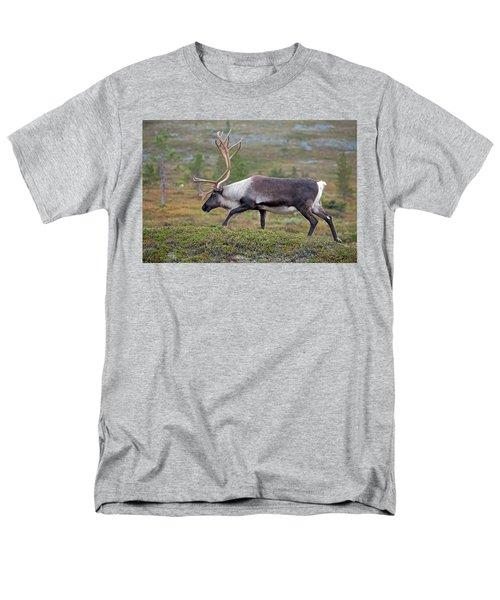 Reindeer Men's T-Shirt  (Regular Fit) by Aivar Mikko