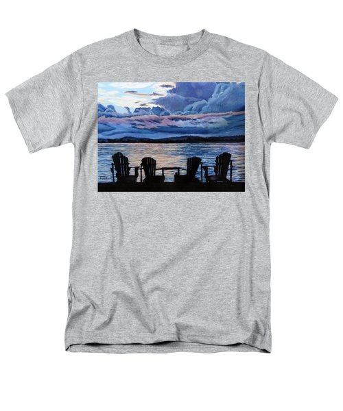 Relax Men's T-Shirt  (Regular Fit) by Marilyn McNish
