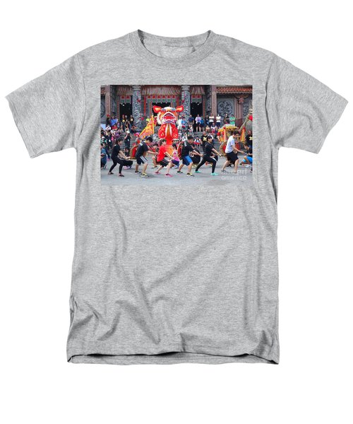 Religious Martial Arts Performance In Taiwan Men's T-Shirt  (Regular Fit)