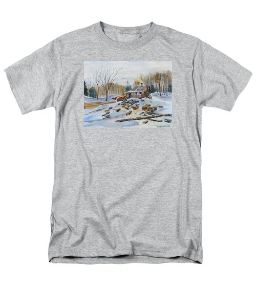 Reynold's Sugar Shack Men's T-Shirt  (Regular Fit) by David Gilmore