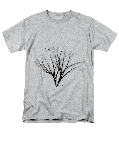 Men's T-Shirt  (Regular Fit) featuring the photograph Ribbon Grass by Asok Mukhopadhyay