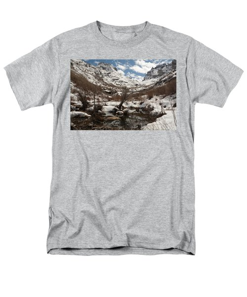 Men's T-Shirt  (Regular Fit) featuring the photograph Right Fork Canyon by Jenessa Rahn