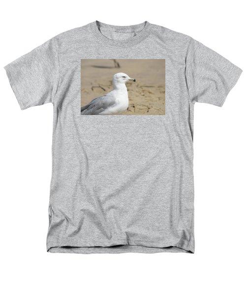 Ring-billed Gull Men's T-Shirt  (Regular Fit) by Heidi Poulin