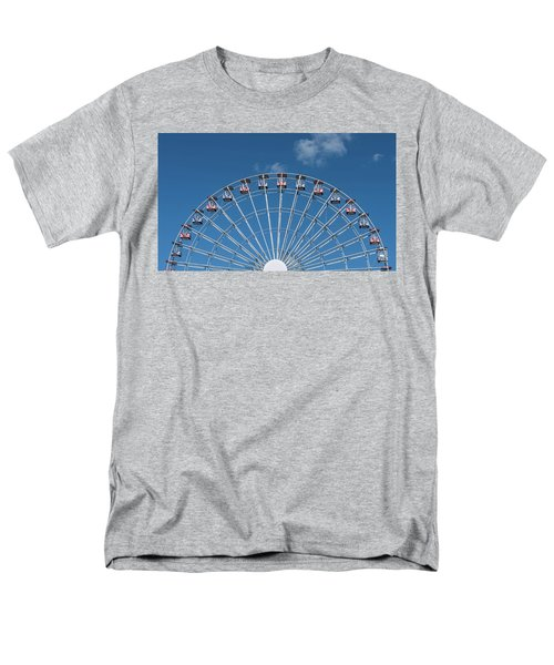 Rise Up Ferris Wheel In The Clouds Seaside Nj Men's T-Shirt  (Regular Fit) by Terry DeLuco