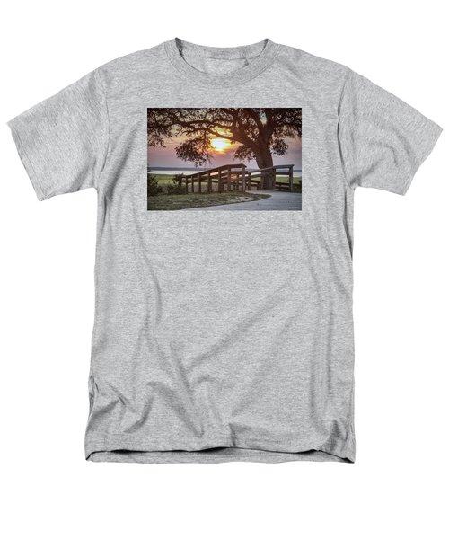 River Walk Men's T-Shirt  (Regular Fit) by Phil Mancuso