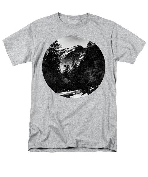 Road To Wonder, Black And White Men's T-Shirt  (Regular Fit) by Adam Morsa