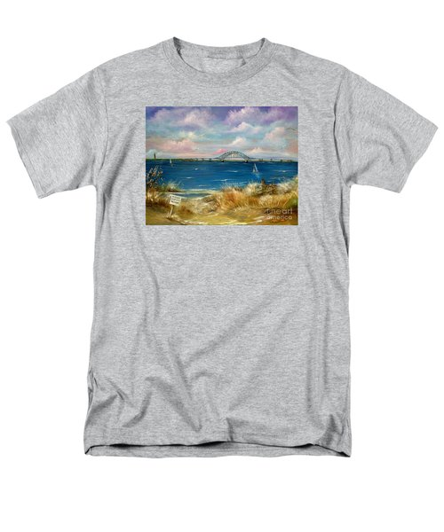 Robert Moses Bridge Men's T-Shirt  (Regular Fit) by Patrice Torrillo
