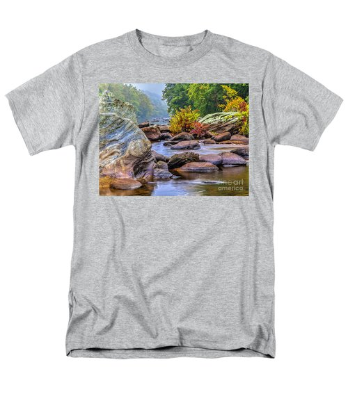 Men's T-Shirt  (Regular Fit) featuring the photograph Rockscape by Tom Cameron