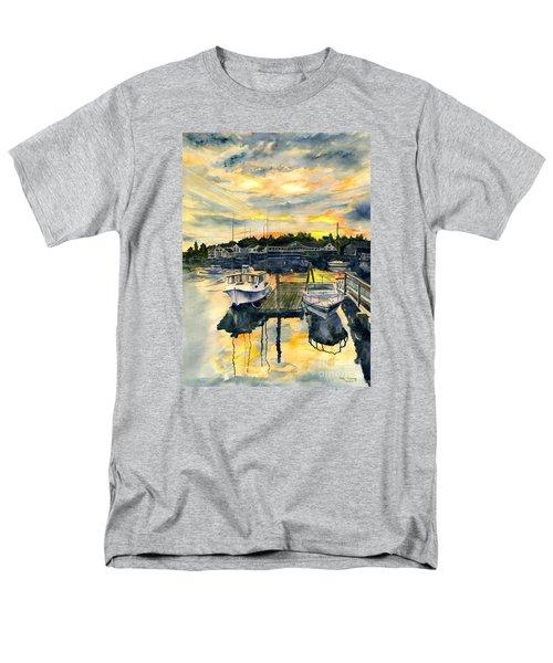 Rocktide Sunset Men's T-Shirt  (Regular Fit) by Melly Terpening