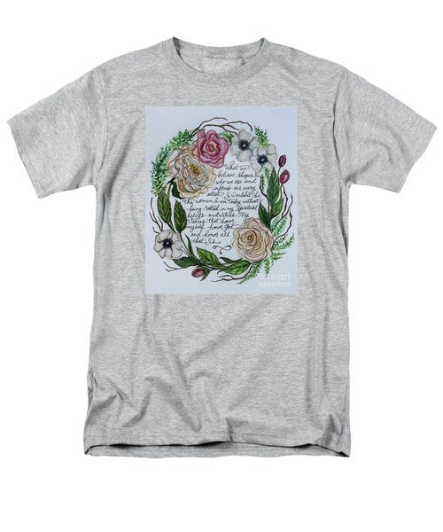 Rooted Men's T-Shirt  (Regular Fit) by Elizabeth Robinette Tyndall