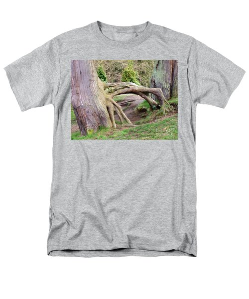 Roots Of Strength Men's T-Shirt  (Regular Fit) by Mary Mikawoz