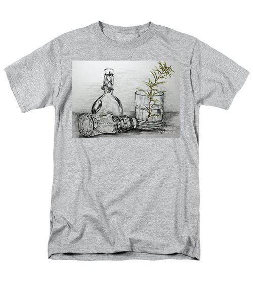 Rosemary Men's T-Shirt  (Regular Fit) by Terri Mills