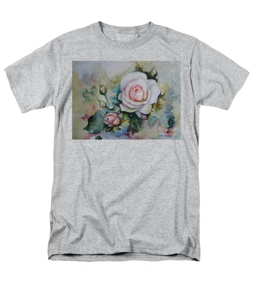 Men's T-Shirt  (Regular Fit) featuring the painting Roses by Elena Oleniuc
