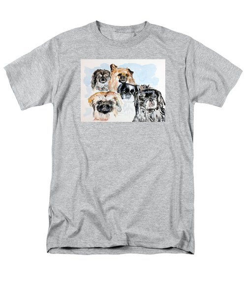 Rose's Pekingese Men's T-Shirt  (Regular Fit) by Stan Tenney
