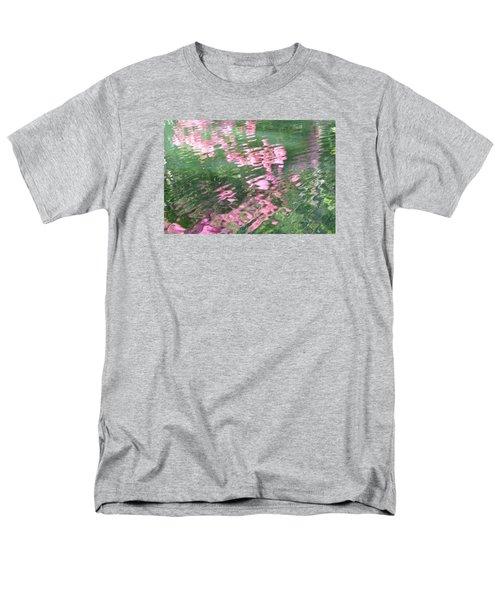 Rosey Ripples Men's T-Shirt  (Regular Fit) by Linda Geiger