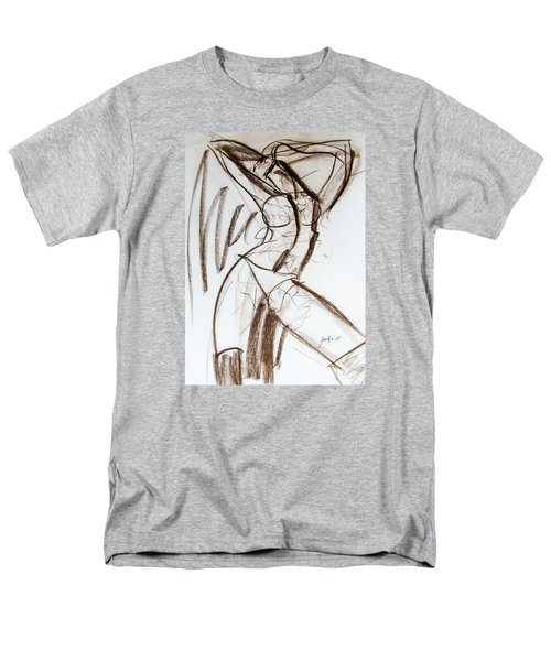 Men's T-Shirt  (Regular Fit) featuring the drawing Rough  by Jarko Aka Lui Grande
