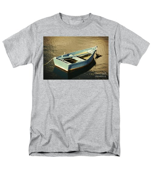 Rowboat At Twilight Men's T-Shirt  (Regular Fit) by Mary Machare