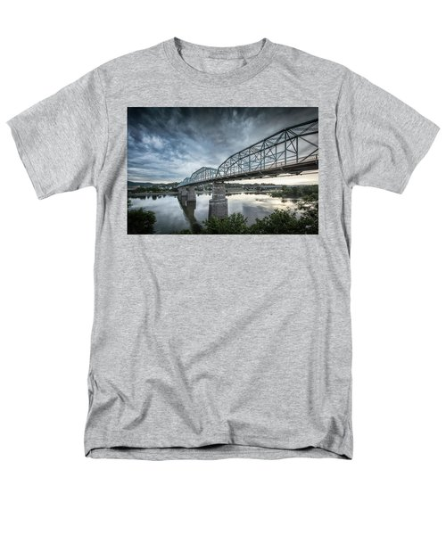 Rowing Under Walnut Street Men's T-Shirt  (Regular Fit) by Steven Llorca