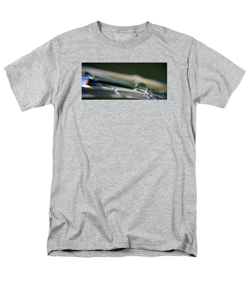 Men's T-Shirt  (Regular Fit) featuring the photograph Rowling Droplets   by Yumi Johnson