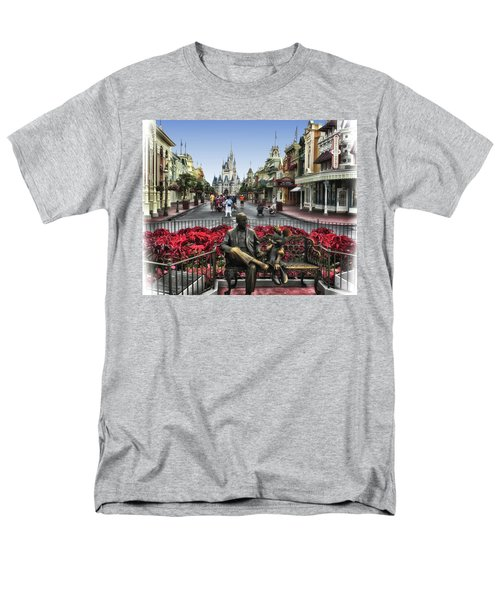 Roy And Minnie Mouse Walt Disney World Mp Men's T-Shirt  (Regular Fit) by Thomas Woolworth