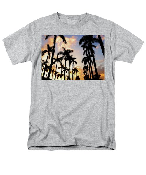 Royal Palm Way Men's T-Shirt  (Regular Fit) by Josy Cue
