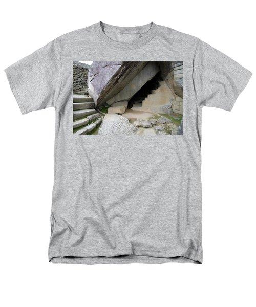 Royal Tomb, Machu Picchu, Peru Men's T-Shirt  (Regular Fit) by Aidan Moran