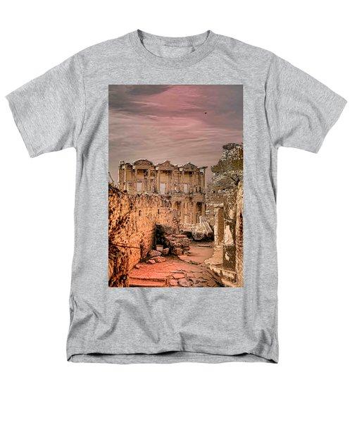 Ruins Of Ephesus Men's T-Shirt  (Regular Fit) by Tom Prendergast