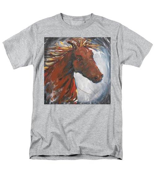 Run Like The Wind Men's T-Shirt  (Regular Fit) by Terri Einer