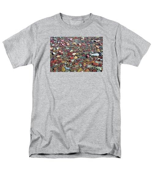 Running Eagle Falls 2 Men's T-Shirt  (Regular Fit) by Dacia Doroff