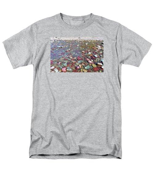 Running Eagle Falls Men's T-Shirt  (Regular Fit) by Dacia Doroff