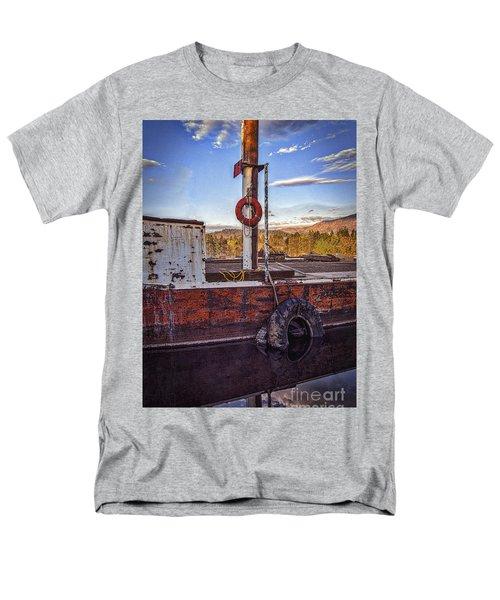 Men's T-Shirt  (Regular Fit) featuring the photograph Rust Never Sleeps by Mitch Shindelbower