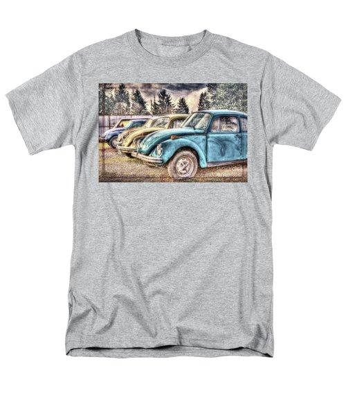 Men's T-Shirt  (Regular Fit) featuring the photograph Rusty Bugs by Jean OKeeffe Macro Abundance Art