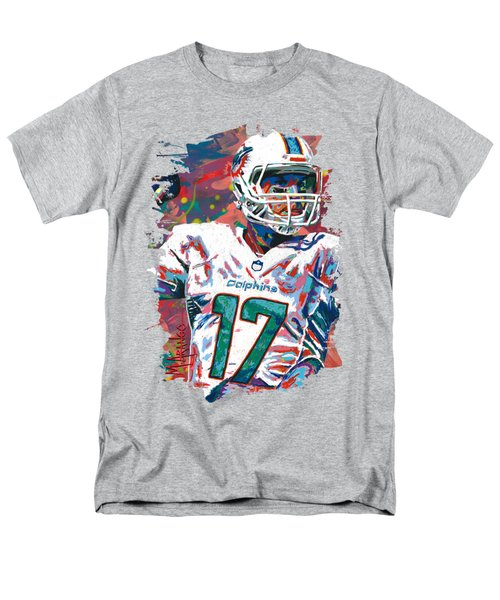 Ryan Tannehill Men's T-Shirt  (Regular Fit) by Maria Arango