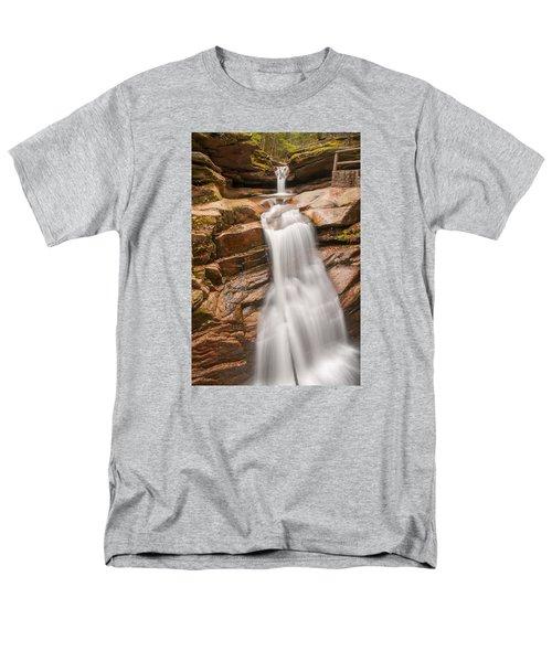 Sabbaday Falls Men's T-Shirt  (Regular Fit) by Brenda Jacobs