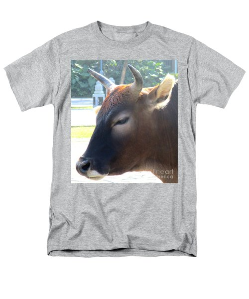 Men's T-Shirt  (Regular Fit) featuring the photograph Sacred Cow 4 by Randall Weidner