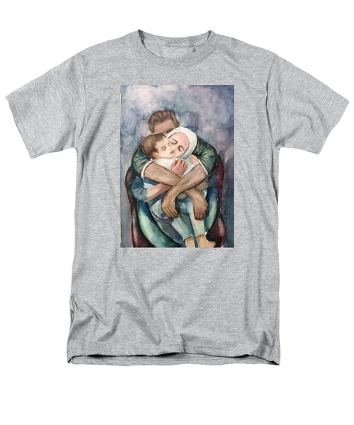 The Saddest Moment Men's T-Shirt  (Regular Fit) by Laila Awad Jamaleldin