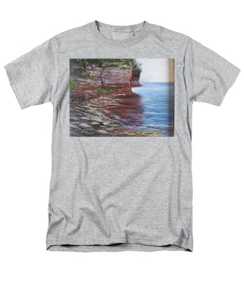 Sail Into The Light Men's T-Shirt  (Regular Fit)