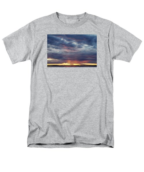 Sailboats On The Bay Men's T-Shirt  (Regular Fit) by Elvira Butler