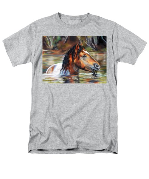 Salt River Tango Men's T-Shirt  (Regular Fit) by Karen Kennedy Chatham